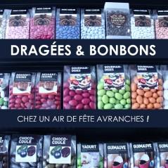 Grand choix de dragées à Avranches