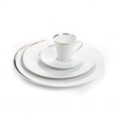 Porcelaine filet platine en location
